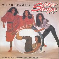 Cover Sister Sledge - We Are Family [1984 Bernard Edwards Mix]
